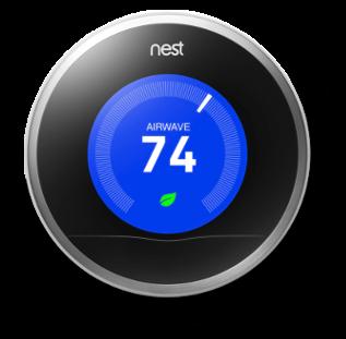 nest thermostat connecte economie chauffage